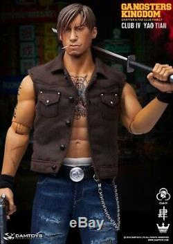 1/6 DAMTOYS GK019 YaoTian withTabernacle Gangsters Kingdom The Club Family Model