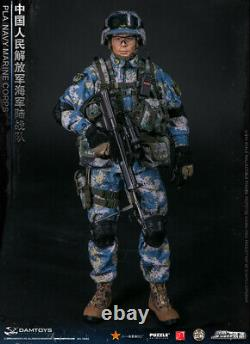 1/6 Man Soldier Figure Doll PLA NAVY MARINE CORPS DAMTOYS 78068 Collection
