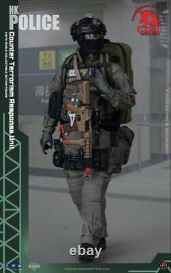 1/6th Soldier Story SS-116 Doll Figure 12 HK Police CTRU Tactical Medic Soldier