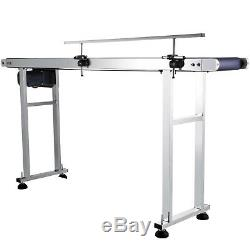 110V PVC Belt Electric Conveyor Machine With Stainless Steel
