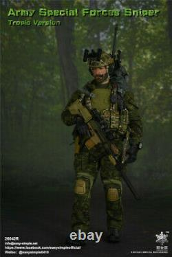 16 Easy&Simple 26042R US Army Special Forces Sniper Soldier Tropic Ver