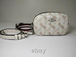 Authentic NWT COACH 78603 Convertible Belt Bag With Horse And Carriage Print