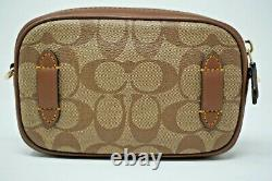 Coach Keith Haring Khaki Signature Canvas with Patches Convertible Belt Bag F556