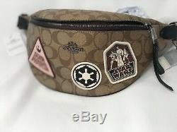 Coach Star Wars X Coach Belt Bag Signature Canvas With Patches $350