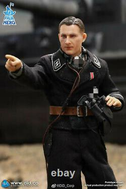 DID 1/12 XD80004 WWII Tank Soldier Wittmann Officer 6'' Action Figure Model