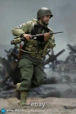 DID 1/6 A80150 Soldier WWII US 2nd Ranger Battalion Sergeant Horuath Figure Gift