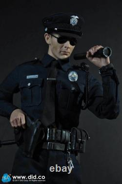 DID MA1009 1/6 LAPD PATROL Terminator T1000 Male Soldier Action Figure Toys