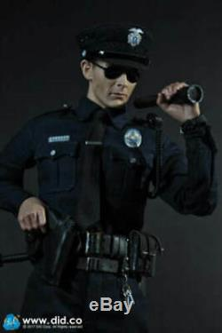 DID MA1009 LAPD PATROL Terminator T1000 1/6 Scale Male Soldier Action Figure Toy