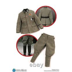 DID XD80004 1/12 WWII Germany Tank Ace Weitmann Soldier 12 Head Clothes presale