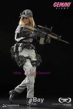 Damtoys 1/6 Dcg002 Combat Girl Series Gemini Vicky Action Figure Toy In Stock
