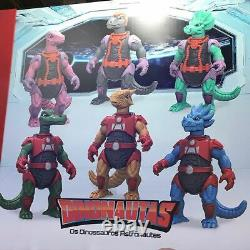 Dinonautas The New Generation Of Dinosaucers Set With Six Action Figures