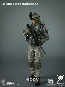EASY&SIMPLE 1/6 GA1005 US ARMY M14 Marksman Soldier Action Figure