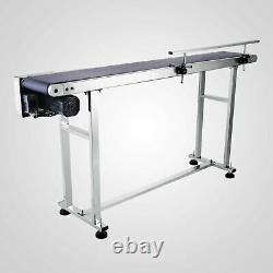 Electric Conveyor Auto Power Slider Bed PVC Belt Stainless 150x20cm Quality Kit