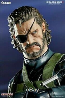 GECCO Metal Gear Solid V Ground Zeroes Snake 1/6 Scale PVC Statue 371450