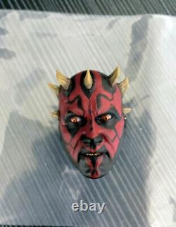 HOT TOYS DX18 1/6 Scale Star Wars Darth Maul Head Sculpt Figure for 12in. Body