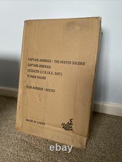 Hot Toys MMS 242 Captain America Winter Soldier (Stealth Strike Suit) 1/6 Figure