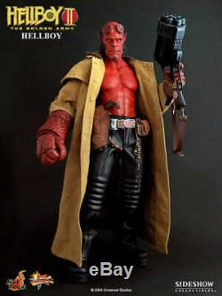 Hot Toys The Golden Army Hellboy II 2 Ron Pearlman 12 inch Figure MMS 83 NEW