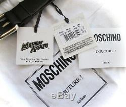 M0schino Couture Cartoon Mighty Mouse Dollar Print Fanny Pack Belt Bag New Italy