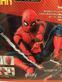 Marvel Sh Figuarts Spider-man Homecoming 6 Figure Us Seller Authentic Bandai