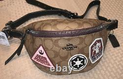 New NWT Star Wars Coach Patches Belt Bag F88013 Limited Edition