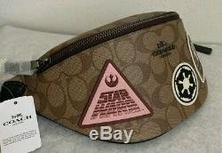 Nwt Coach Star Wars Patches Belt Bag In Signature Canvas F88013 Limited Edition