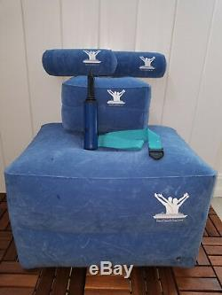 Posture Therapy Inflatable Large & Small Blocks, Long & Short Rolls & Aqua Strap