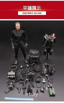RARE 16 Scale 12 US Navy Seal HALO UDT NIGHT DIVING Jumper Action Figure M004