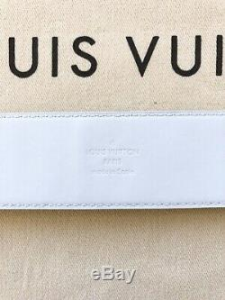 SOLD OUT! Louis Vuitton LV 40mm Belt Prism Iridescent New Virgil Abloh Off White