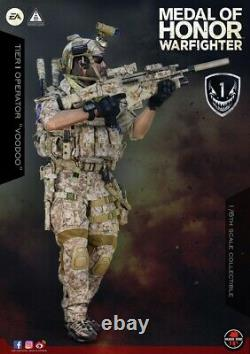 Soldier Story 1/6 Medal Of Honor Navy Seal Tier One Operator Voodoo Toy IN STOCK