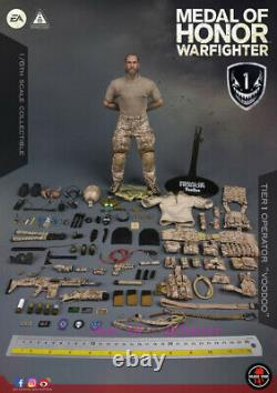 Soldier Story 1/6 Ss106 Medal Of Honor Navy Seal Tier One Operator Voodoo Toy