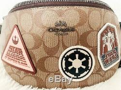 Star Wars X Coach Belt Bag In Signature Canvas With Patches (Fanny Pack)