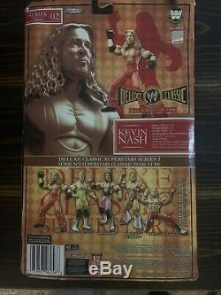 Wwe Jakks Pacific Deluxe Classic Kevin Nash Series 2 Very Rare